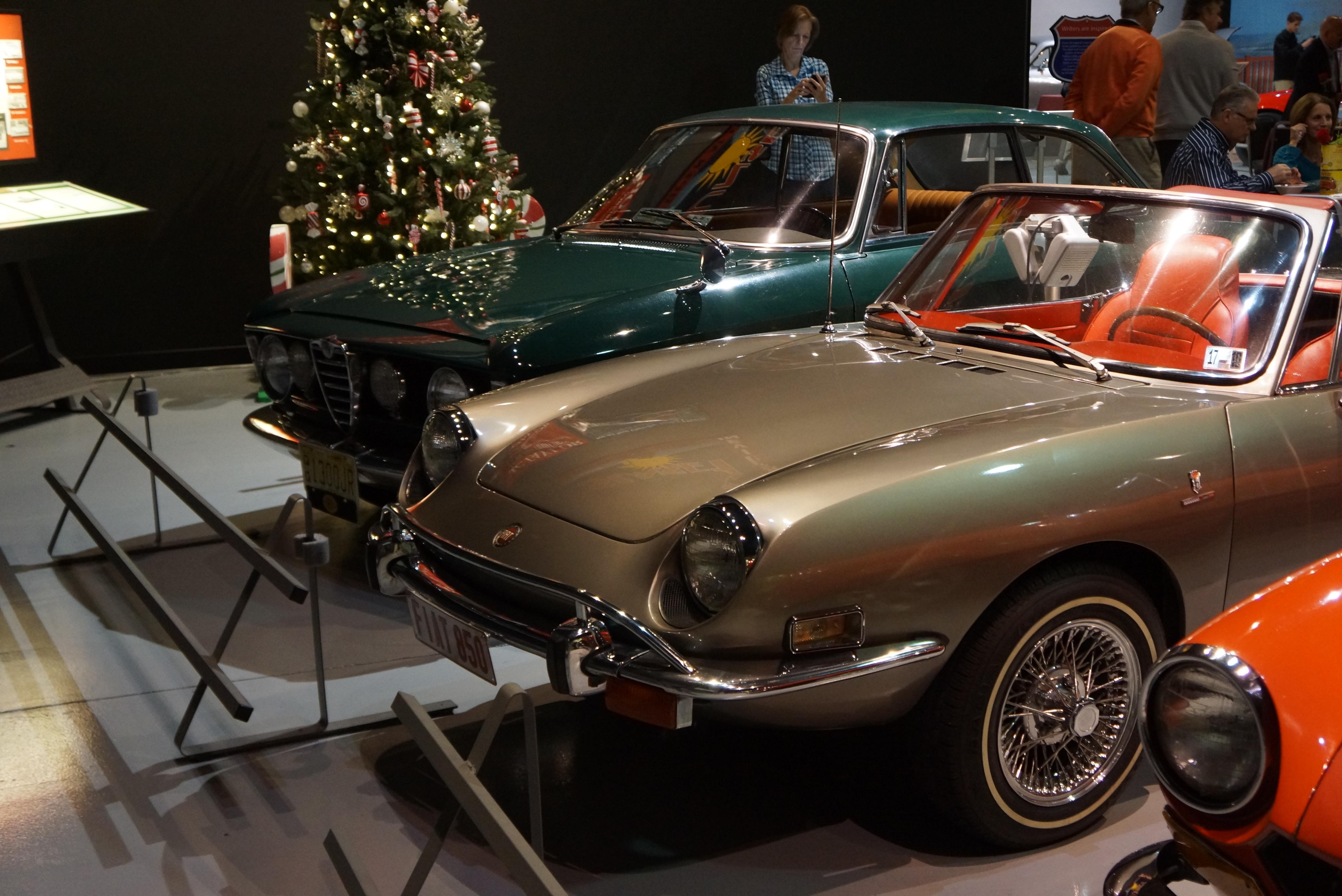 Fiat, Alfa, and Christmas tree
