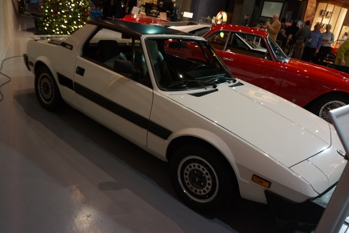 1987 Bertone X1/9, one of the last of the breed