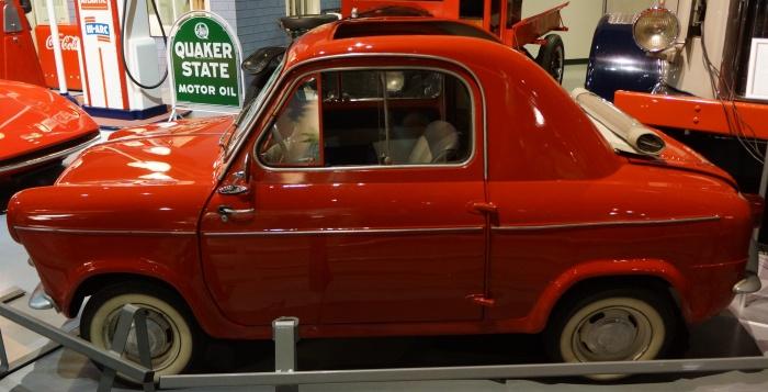 1957 Vespa 400, designed in Italy but built in France