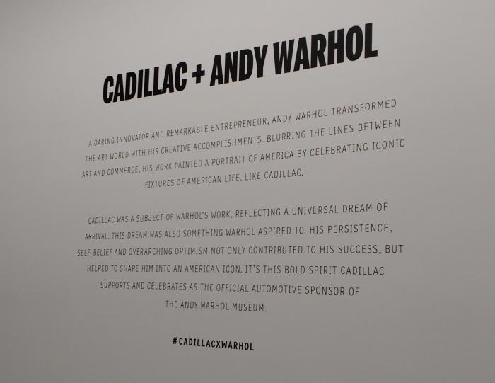 Cadillac + Andy Warhol - who knew?