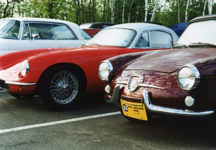 1963 Lotus Elite & 1958 Fiat-Abarth