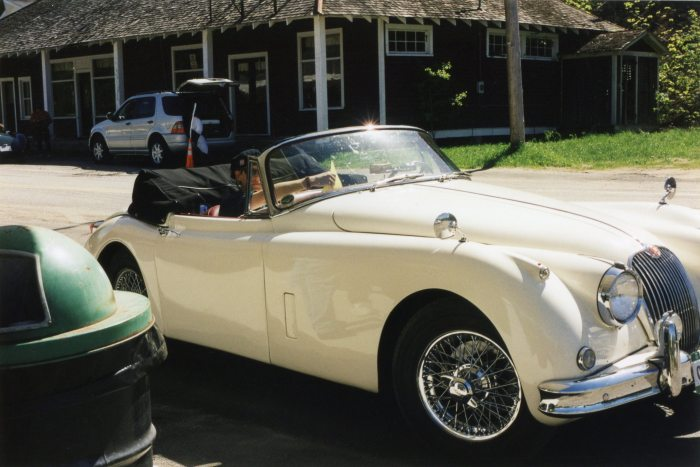 Jaguar XK-150 convertible