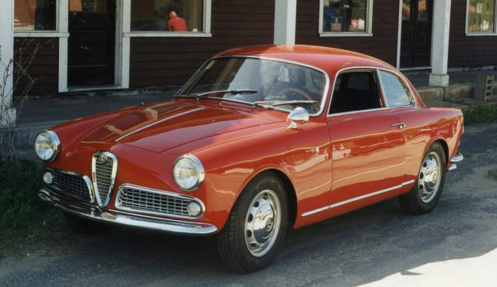 Alfa Giulietta Sprint Coupe
