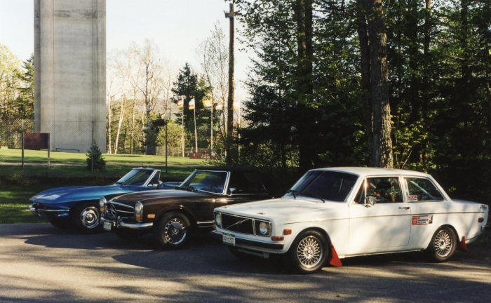 Stingray, MB 280SL, Volvo 142