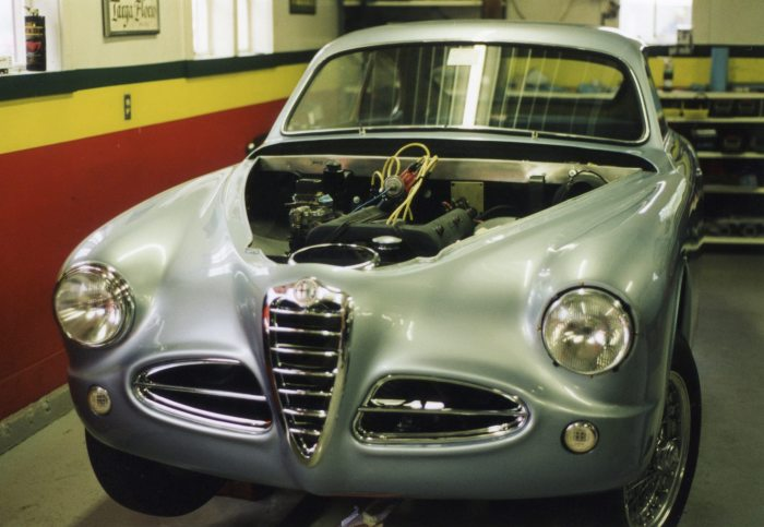 This rare Alfa Romeo 1900 looked close to being completed
