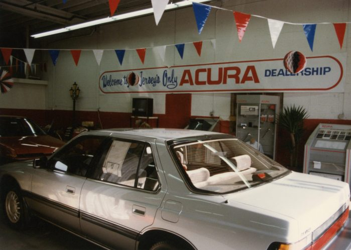 One of the first Acura Legends in the country