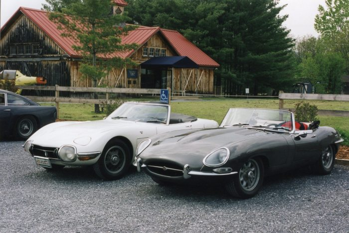Toyota 2000GT and Jaguar E-Type - which do you prefer?