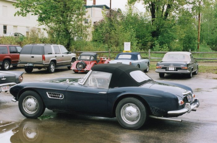 BMW 507, being used as Albrecht von Goertz intended