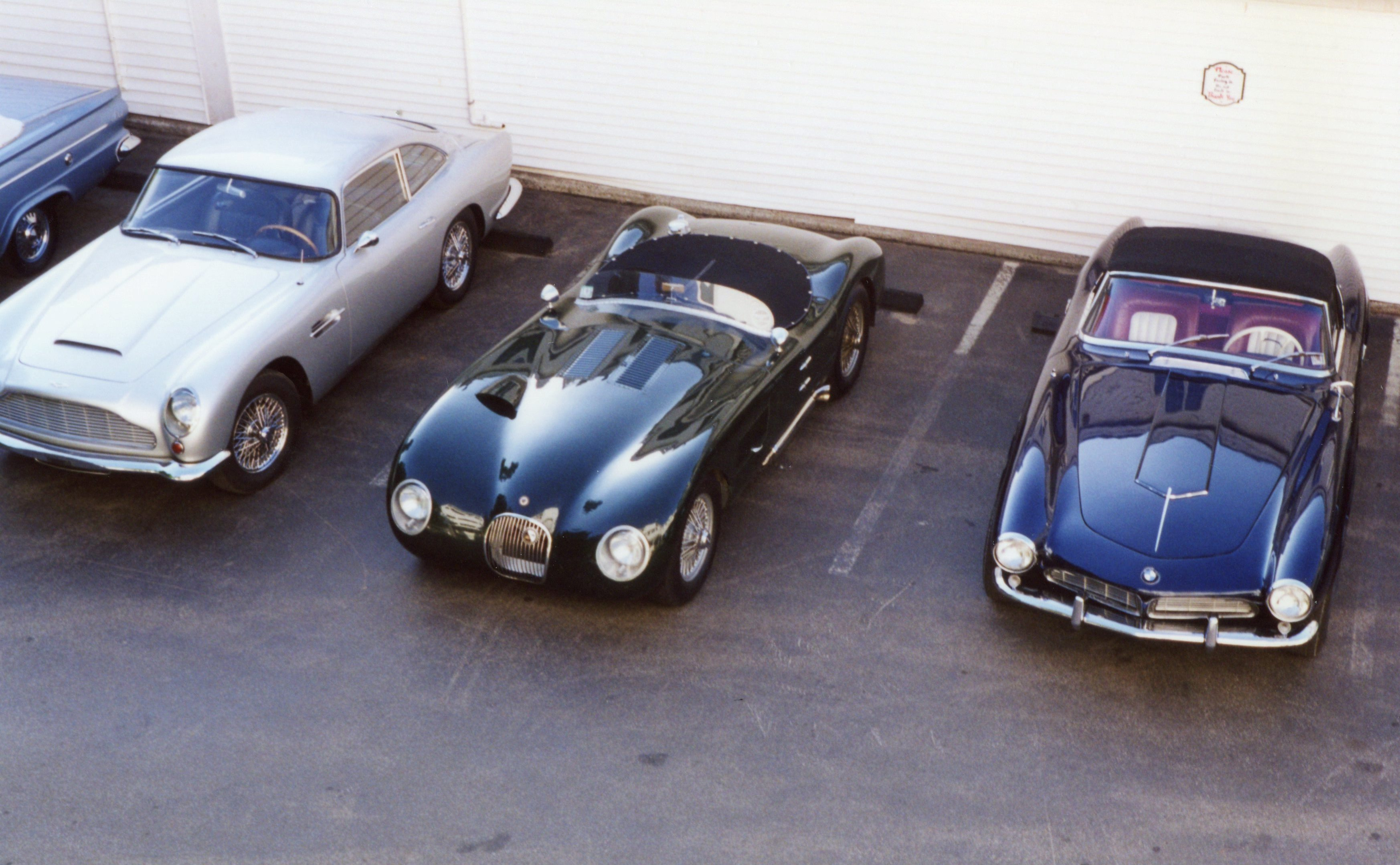 Aston, Jag, BMW (would make a nice collection for my garage)