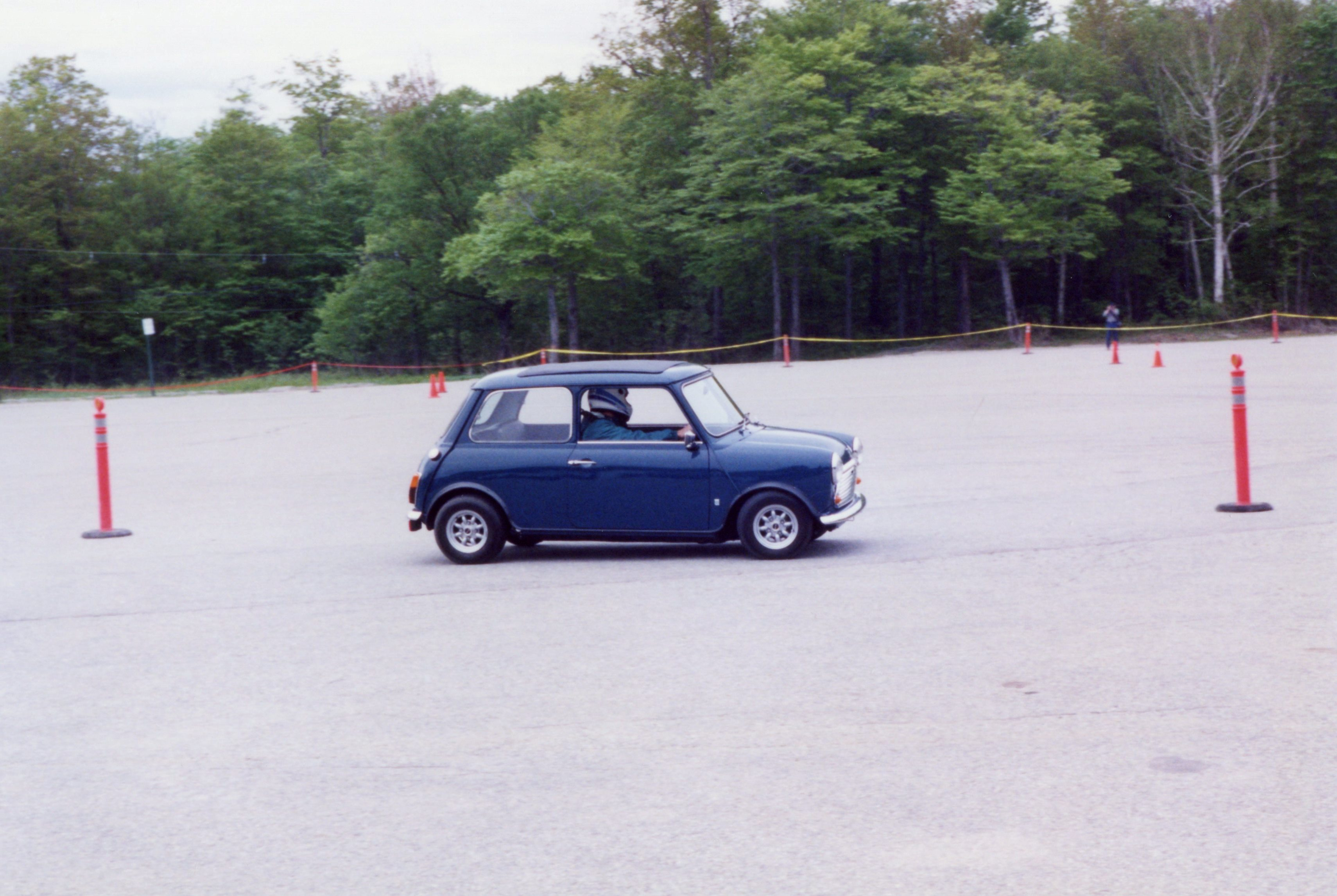 Dave shows all of us what that Mini can do (he WON the competitive driving award this year)