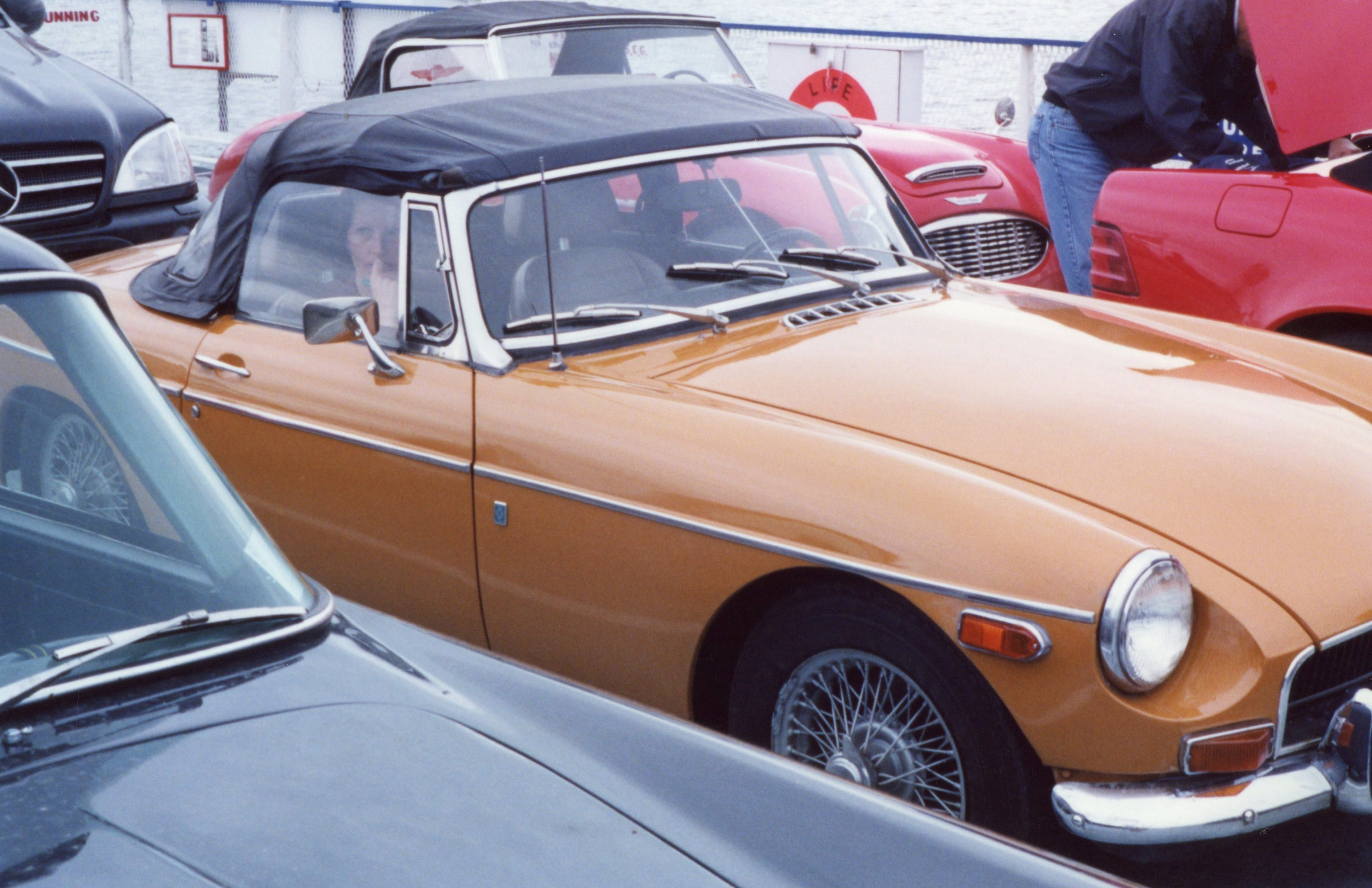 Drizzle required top-up, no quick job in the MG