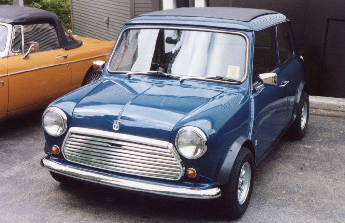 Dave Allison's Austin Mini