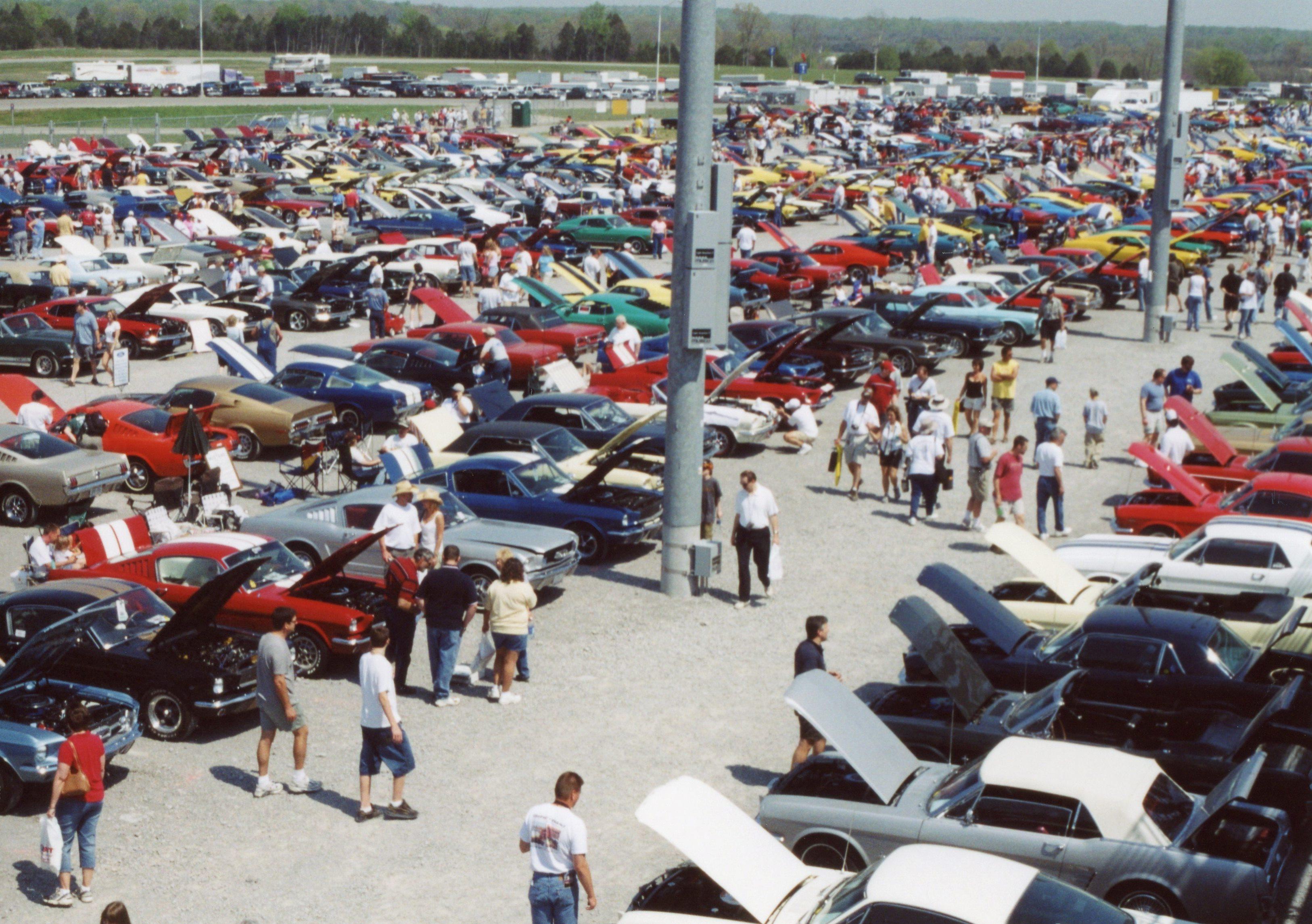 MCA 40th anniversary show field, Nashville TN